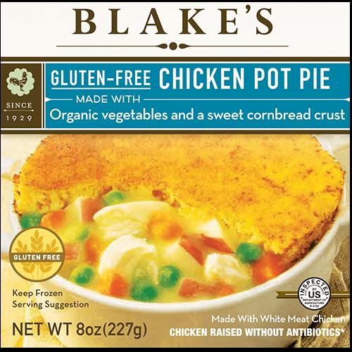 Gluten Free Chicken Pot Pie Blakes All Natural